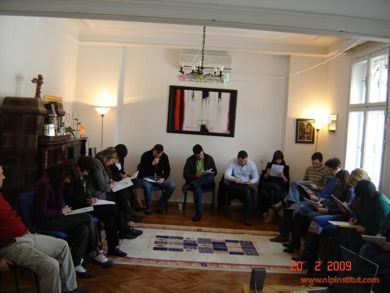 Startovala prva grupa NLP Business Practitioner-a