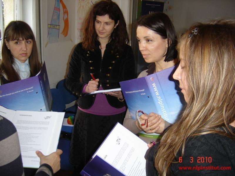 Počela je NLP Business Practitioner edukacija