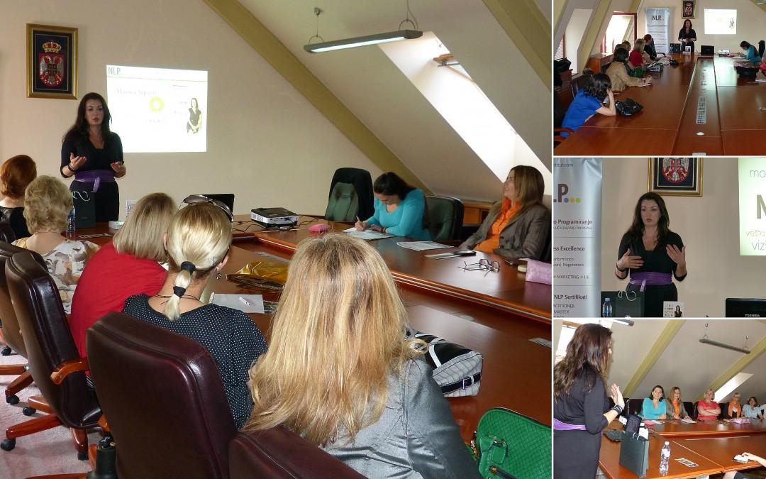Inspirativno predavanje za članice udruženja poslovnih žena – Čačak
