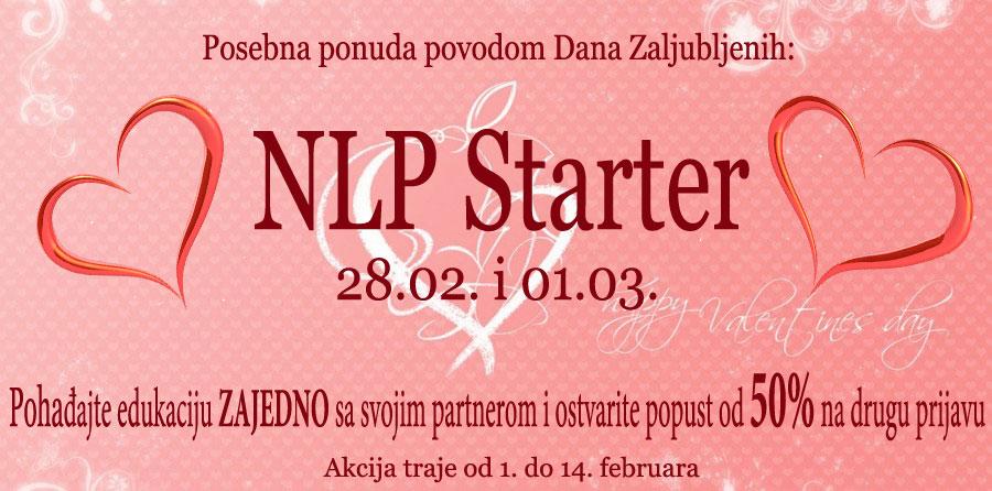 Posebna ponuda povodom Dana Zaljubljenih – NLP Starter