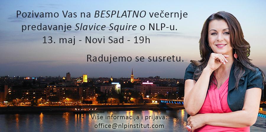 Besplatno predavanje Slavica Squire o NLP-u – Novi Sad
