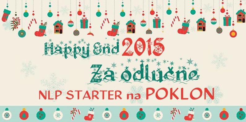 Happy End 2015 – poklon za odlučne – NLP Starter