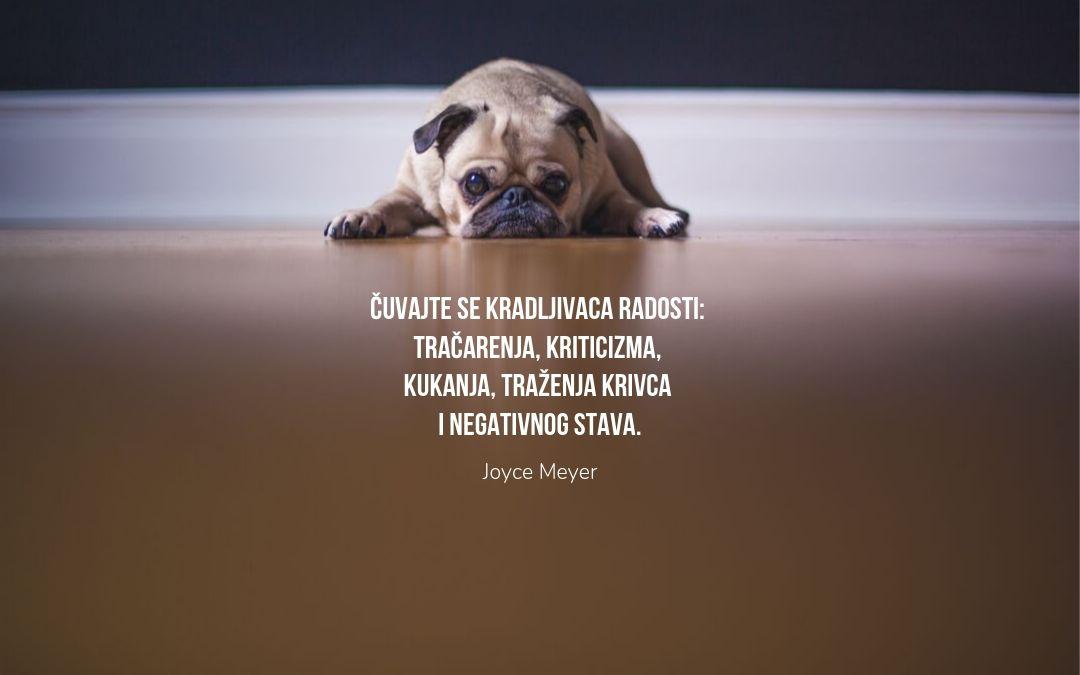 Biti nesrećan je veština koja se usavršava svaki dan