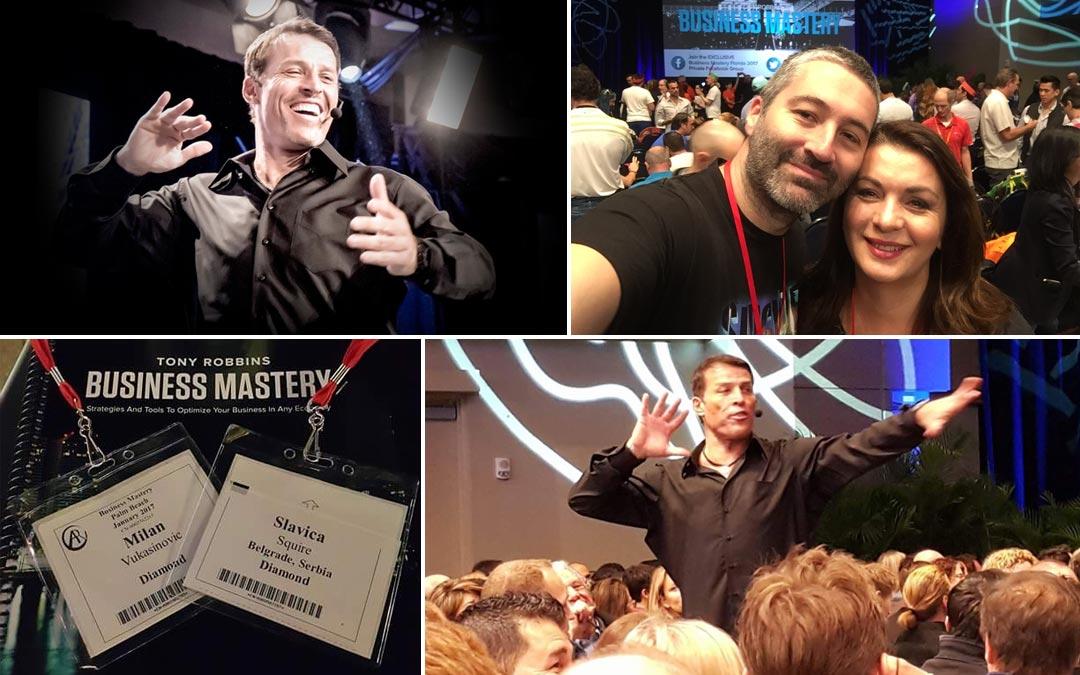 Šta sam naučila na Business Mastery kod Tony Robbins-a za samo 5 dana?